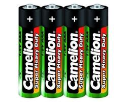 Комплект из 4 батареек типа ААА CAMELION R3