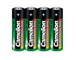 Комплект из 4 батареек типа АА CAMELION R6