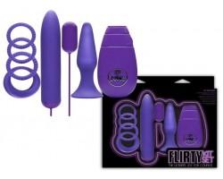 Фиолетовый вибронабор FLIRTY