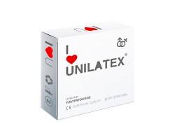 Ультратонкие презервативы Unilatex Ultrathin - 3 шт.