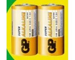 Батарейки 14А алкалин в пленке GP14A-OS2 - 2 шт.