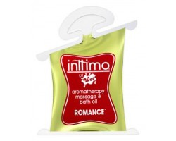 Масло для массажа Inttimo Romance с ароматом кедра и пачули - 10 мл.