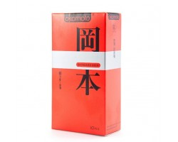 Ультратонкие презервативы OKAMOTO Skinless Skin Super thin - 10 шт.