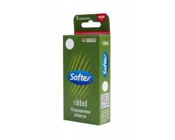 Ребристые презервативы Softex Ribbed - 10 шт.