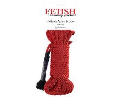 Красная веревка для фиксации Deluxe Silky Rope - 975 см.