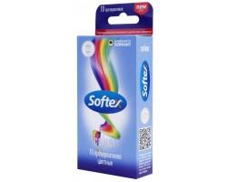 Цветные презервативы Softex Colour - 10 шт.