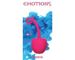 Розовый стимулятор-вишенка со смещенным центром тяжести Emotions Sweetie