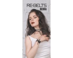 Браслет со шнуровкой Berra Black