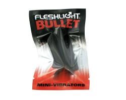 Чёрная вибропуля Fleshlight Bullet