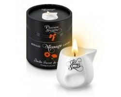 Массажная свеча с ароматом мака Jardin Secret De Provence Coquelicot - 80 мл.