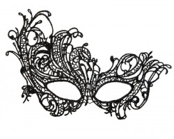 Асимметричная нитяная маска