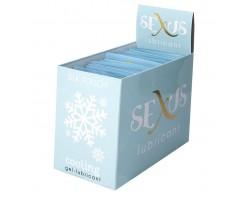Набор из 50 пробников охлаждающего гель-лубриканта на водной основе Silk Touch Cooling по 6 мл. каждый