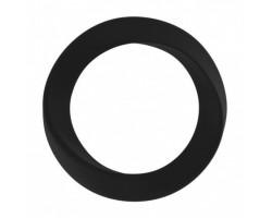 Чёрное эрекционное кольцо Infinity Thin Large