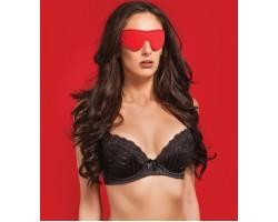 Чёрно-красная двусторонняя маска на глаза Reversible Eyemask