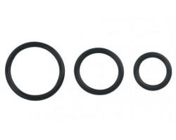 Набор из трёх эрекционных резиновых колец разного диаметра