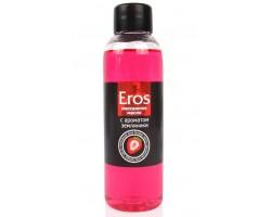 Массажное масло Eros fantasy с ароматом земляники - 75 мл.