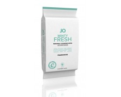 Салфетки для тела JO PERSONAL CLEANSING WIPES MINTY FRESH с ароматом мяты - 30 шт.