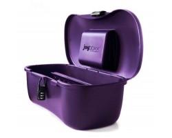 Фиолетовый ящичек для хранения секс-игрушек Joyboxx