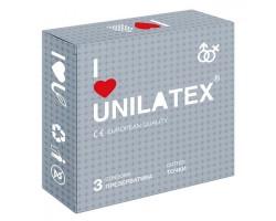 Презервативы с точками Unilatex Dotted - 1 блок (12 упаковок по 3 презерватива в каждой)