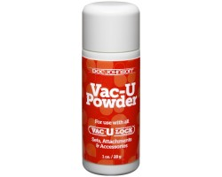 Присыпка Vac-U Powder для легкого вкручивания насадок на плаг Vac-U-Lock - 28 гр.